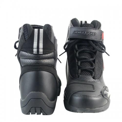 حذاء سيفني أسود من SCOYCO