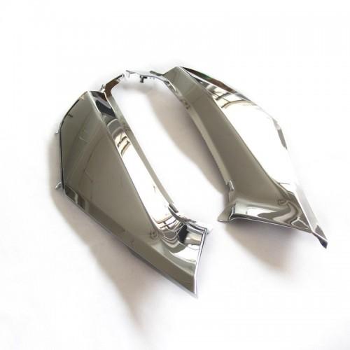 غطاء شنطة البطارية نيكل كروم قولد وينق