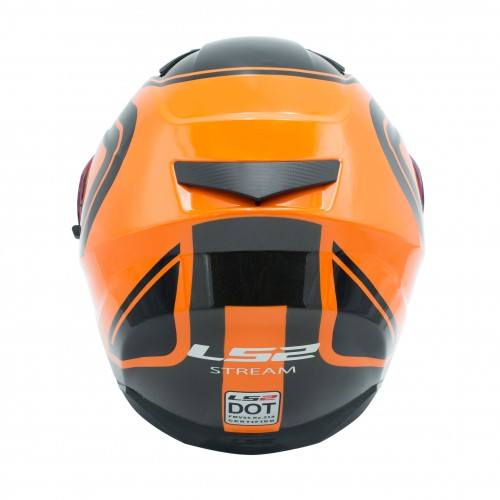 خوذه LS2 برتقالي