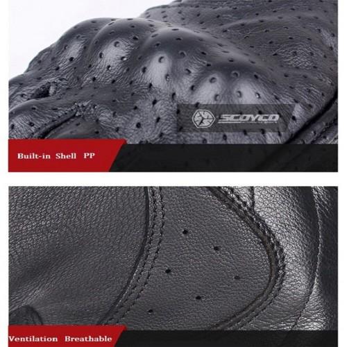 قفاز نص جلد من SCOYCO موديل MC43
